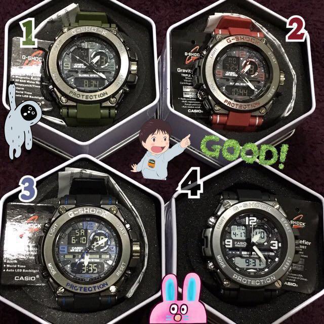 sale🔪claw machine(brand new)cold light watch 娃娃機出貨 全新未使用 g-shock casio 運動款冷光手錶⌚️