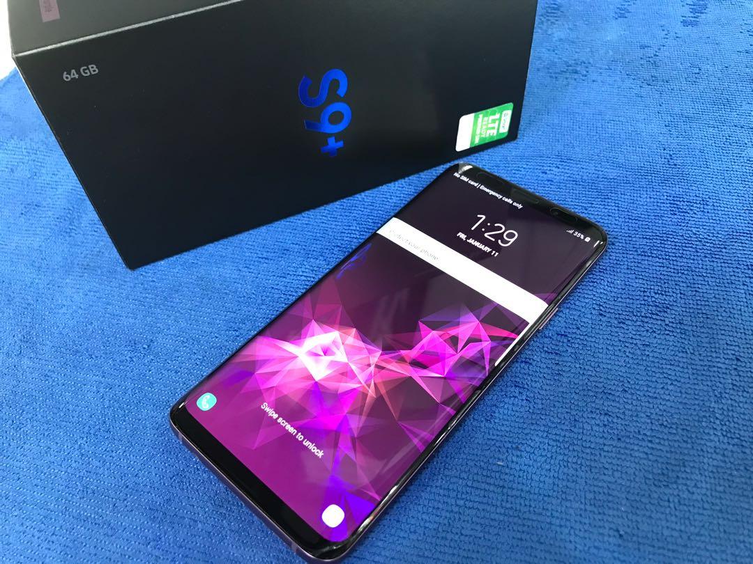 Samsung Galaxy S9 plus Duos NTc warranty Like new
