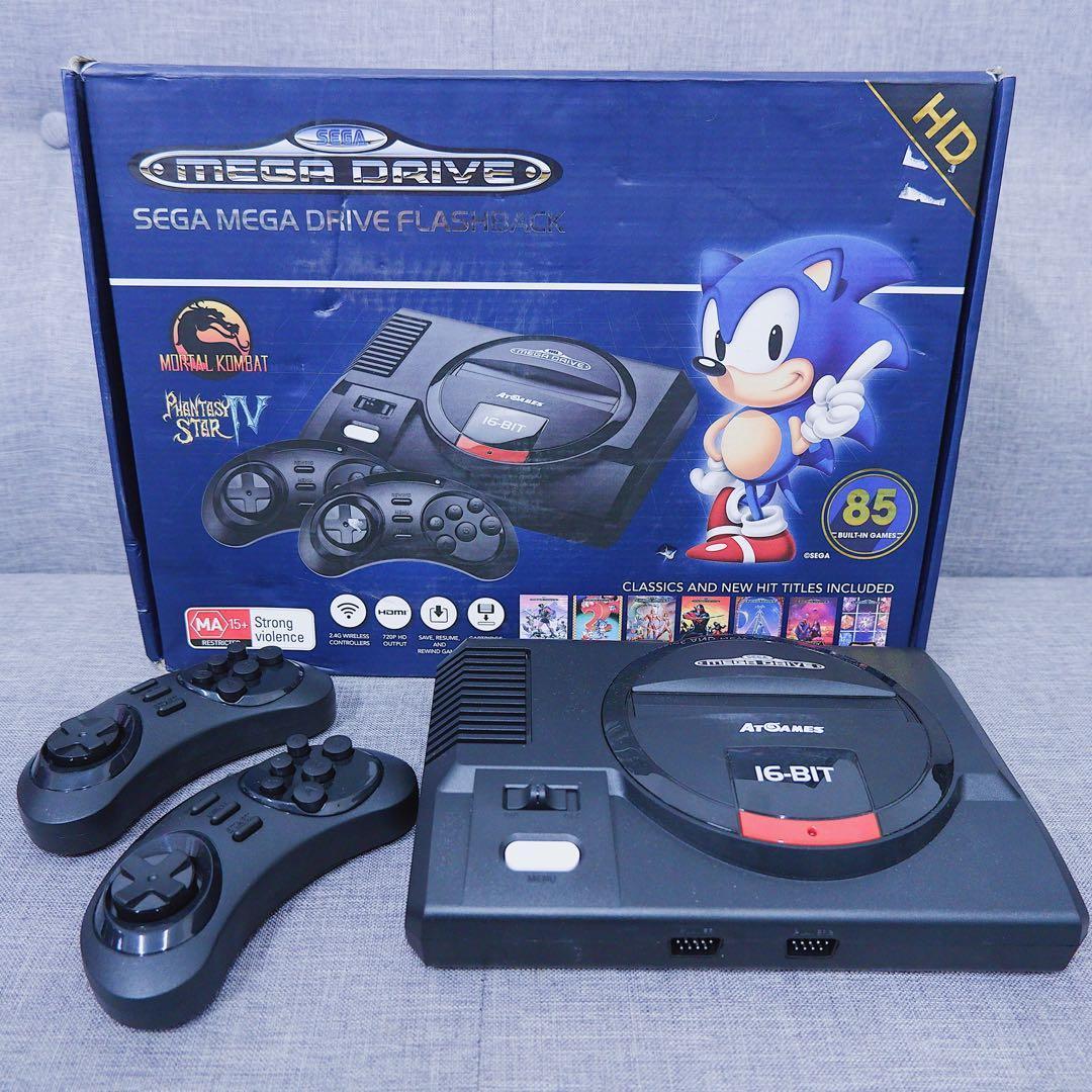 Sega Mega Drive Flashback HD on Carousell