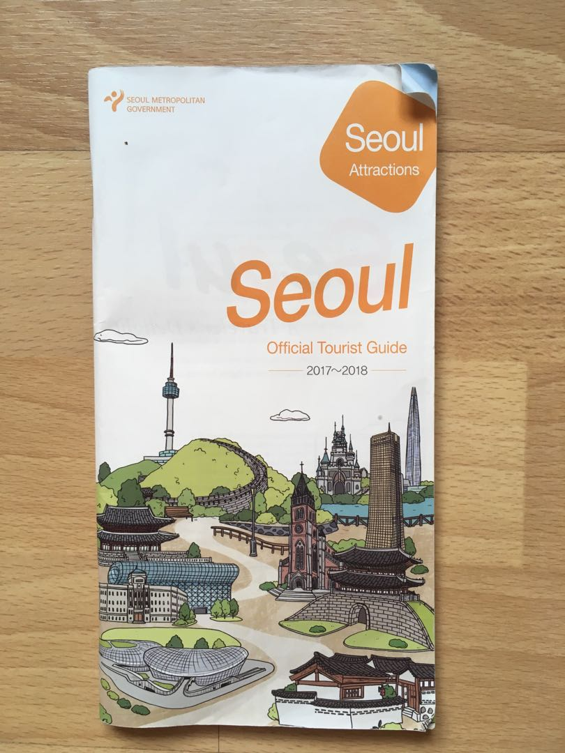 0b972aeb Seoul official tourist guide, Books & Stationery, Non ...