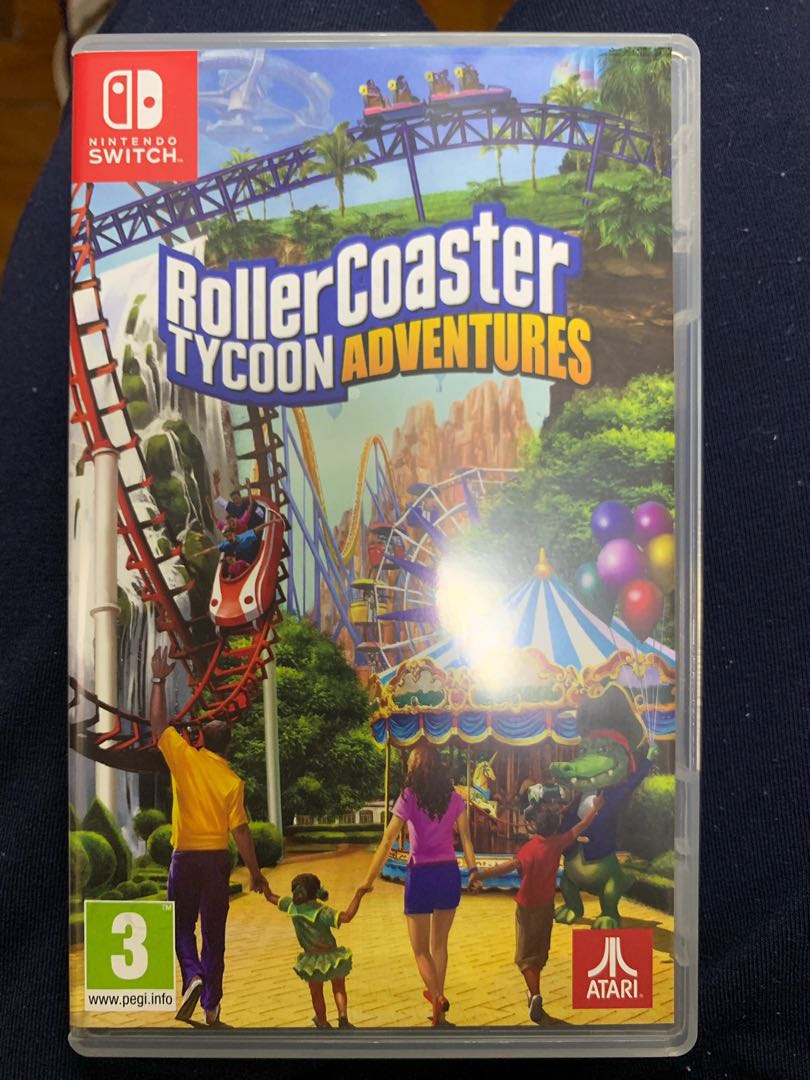 Switch Game: Roller Coaster Tycoon Adventures