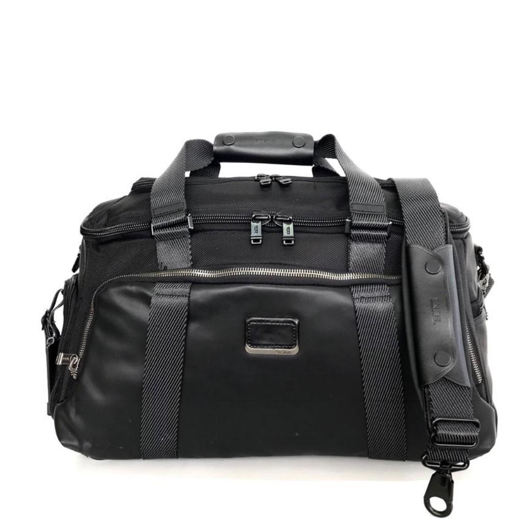 593eb63e39 Tumi Alpha Bravo McCoy Gym Bag - Black