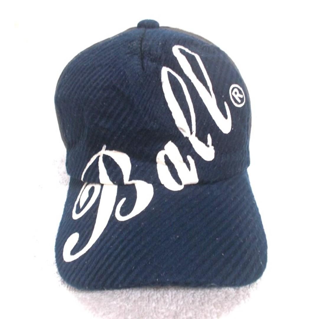 3b2a8e1c98d Vintage Ball Big Logo Japanese Brand Cap