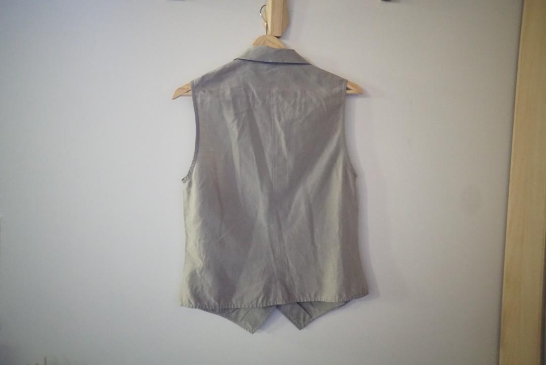 Vintage Mani light brown singlet/vest