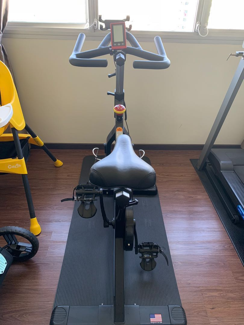 Vortex v spin bike sports weights gym equipment on carousell