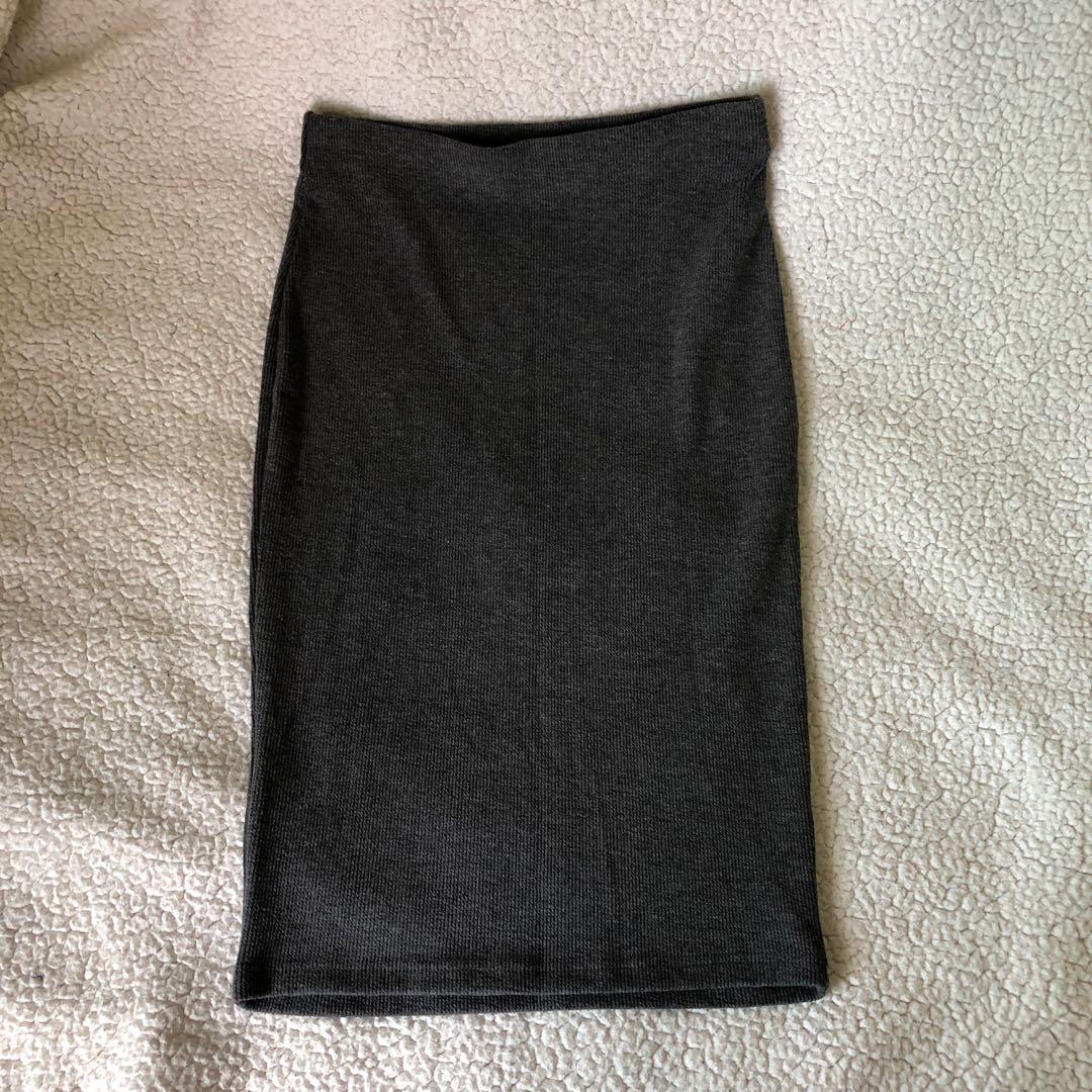 Womens knee length tight skirt