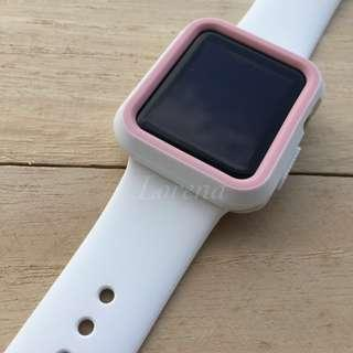 🚚 Replacement Strap with Bumper for Apple Watch