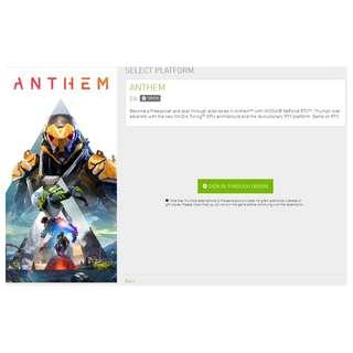 🚚 Anthem EA Origin