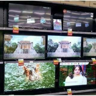 LED TV berbagai merk bisa di cicil gratis 1x angsuran proses 3 menit