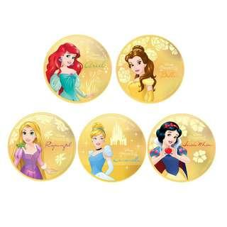LeGold 0.2g Disney Princess Gold Coin