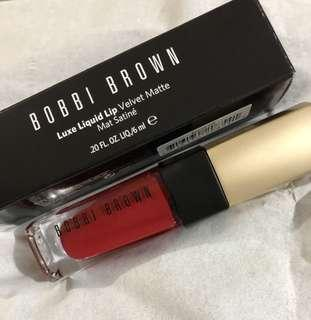 BOBBI Brown-luxe liquid lip -velvet matta