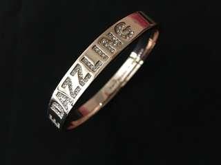 🚚 Kate spade玫瑰金手環
