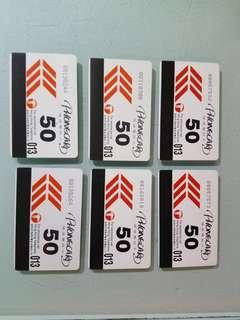 二手已過期  香港電訊電話咭,6張 $30元  實物拍攝,新舊如圖 老香港懷舊車票,懷舊電話卡