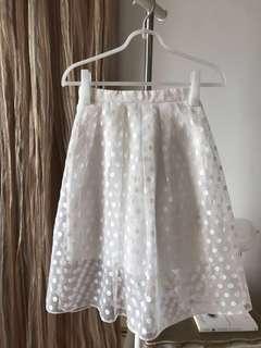 White Skirt #precny60