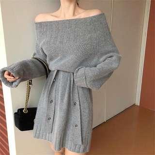 🚚 轉售 毛衣洋裝 全新