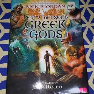 Percy Jackson's Greek Gods – Rick Riordan - NEW Hard Bound