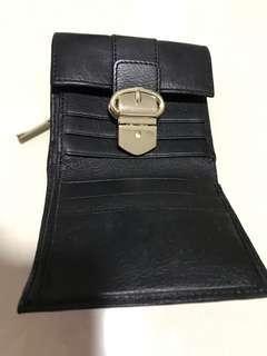 Real leather karen millen wallet