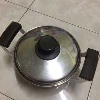 Stainless Steel Pot double handle