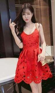 Sexy lady lace dress