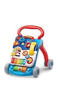 🚚 ~Ready Stocked~ VTech Sit-to-Stand Learning Walker, in blue red exclusive