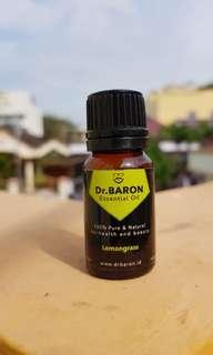 Lemongrass Essential Oil Dr.BARON 10ml Pure and Natural