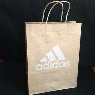 🚚 adidas 愛迪達運動品牌正版購物袋/紙袋/禮物袋/收納袋/手提袋/環保袋/牛皮紙袋