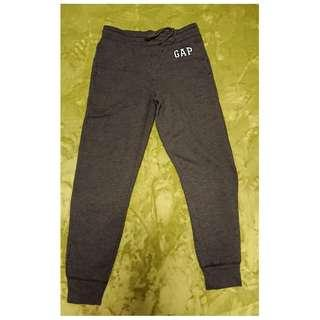 Gap 深灰色棉質長褲,細碼Size S,九成新,抓毛底
