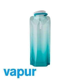 🚚 美國Vapur Two Tone Bottle 運動摺疊水袋 0.7L(湖水綠)