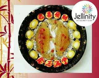 CNY 2019 Big Auspicious Koi Jelly Set
