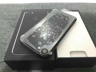 Apple Iphone 7 256GB Jet Black  Globe locked
