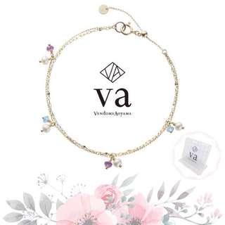 Vendome Aoyama -VA 情人節限定款珍珠水晶手鍊