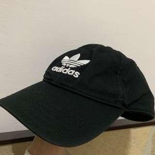 Adidas 老帽 黑色 帽子