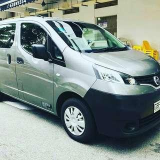 COMMERCIAL VAN NISSAN NV200 1.6A FOR RENTAL