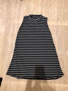 Mini dress stripes