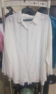 White Formal Blouse