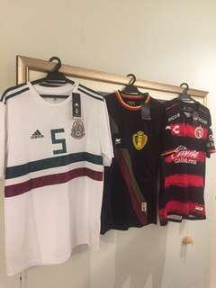 Football Jersey Bundle 3pcs