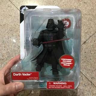 MOSC Disney Store Exclusive Star Wars Toybox Darth Vader (Infinity The Black Series Marvel Legends Select)