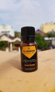 Sweet Orange Essential Oil Dr.BARON 10ml Pure and Natural