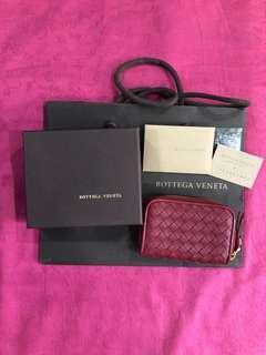 Bottega Veneta - card case holder coin purse zippy