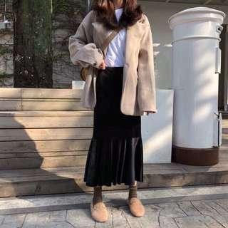 🚚 轉售 全新 絨布魚尾長裙