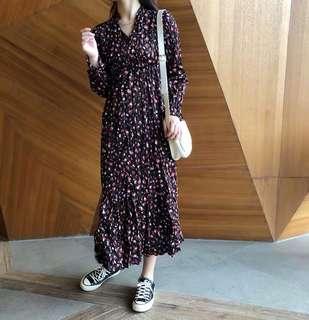 🚚 轉售 豹紋長裙 全新