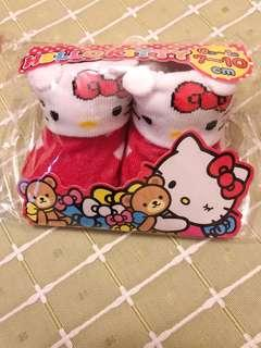 初生bb襪  hello kitty bb 襪