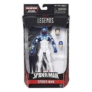MISB Marvel Spider-Man Legends Series Cosmic Spider-Man (Vulture Flight Gear BAF Spiderman Classics SMC Spider-Verse Avengers Spider-Ham 2099 Scarlet Spider Venom Carnage X-Men)