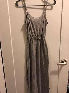 Grey H&M Maxi Dress
