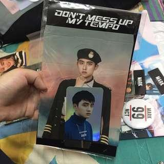 [WTS/OFFICIAL] EXO D.O TEMPO STANDEE + HOLOGRAM PC