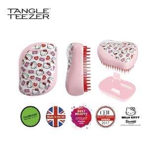 Tangle Teezer Hello Kitty 糖果條紋 便攜美髮梳禮盒套裝 Candy Stripes Compact Styler Hairbrush