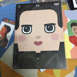 [WTS] EXO D.O PAPER TOY W/O PC