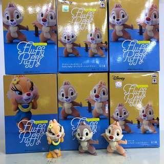Disney Fluffy Puffy Chip n Dale / Clarice