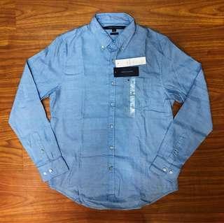 Original Tommy Hilfiger Long Sleeved Polo Shirt