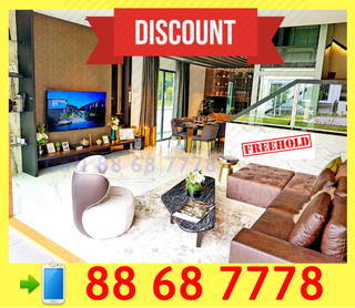 WOW FURTHER DISCOUNT !! Brand New FREEHOLD Landed House For SALE !!
